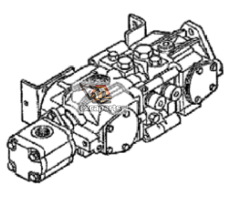 Hydraulic pump 7001067 Bobcat 751 - AFTERMARKET