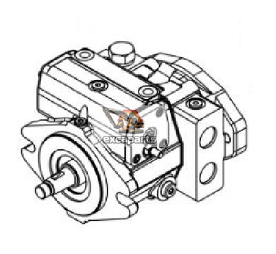 Hydraulic pump 6685378 Bobcat E430 - AFTERMARKET