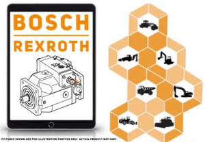 Hydraulic piston pump A4FM107 Bosch Rexroth - AFTERMARKET