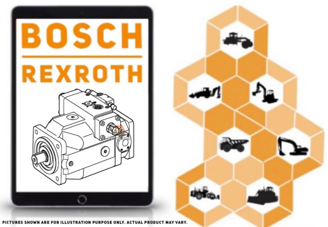 Hydraulic piston pump A4VSO500DP-10R-PZH13K33-SO395 Bosch Rexroth - AFTERMARKET