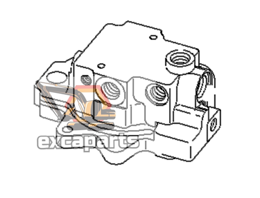 Swing motor 708-7R-00370 Komatsu PC40MR-2 - AFTERMARKET