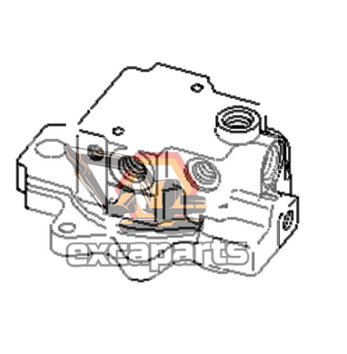 Swing motor 708-7R-00370 Komatsu PC50MR-2 - AFTERMARKET