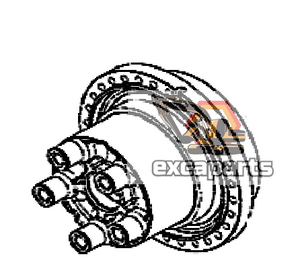Travel motor 05/903899 JCB JS210 - AFTERMARKET