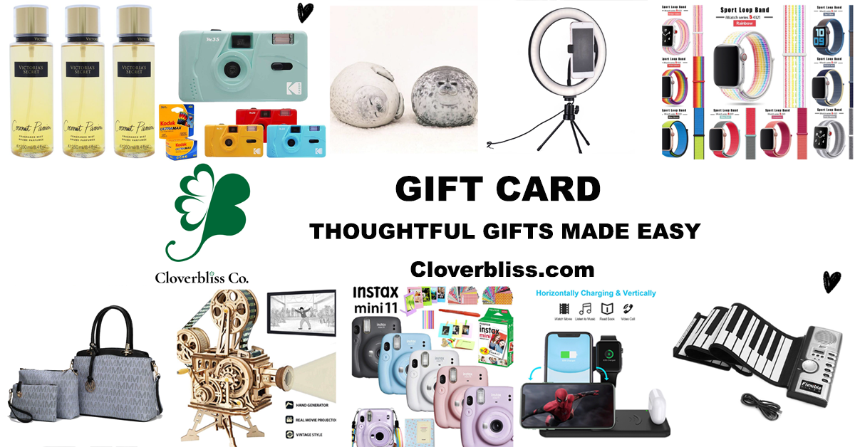 Love Cloverbliss.com Gift Card - Yours, Never Expire!