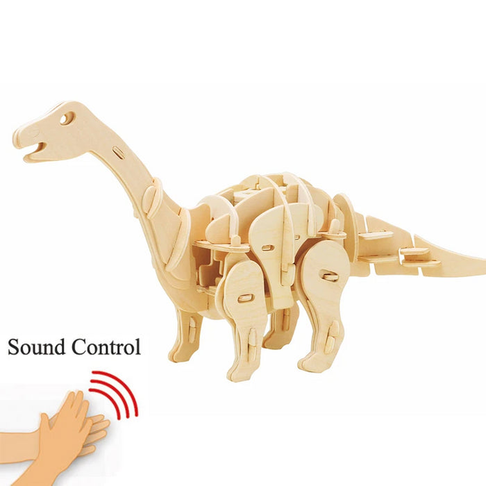 Sound Control Apatosaurus Wooden Puzzle