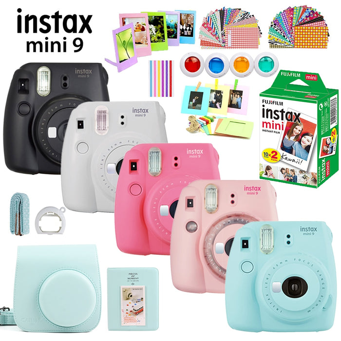 Fujifilm Instax Mini 9 Full Set - cloverbliss.com