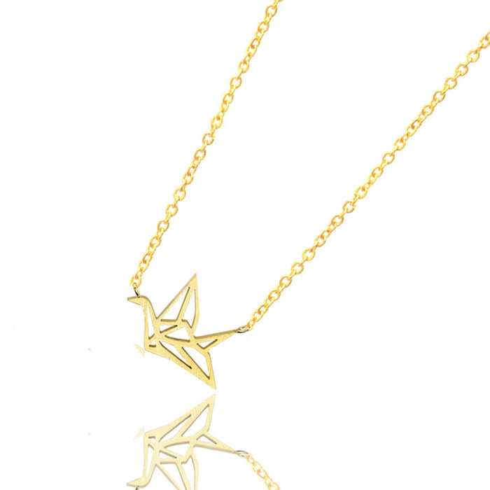 Origami Crane Necklaces