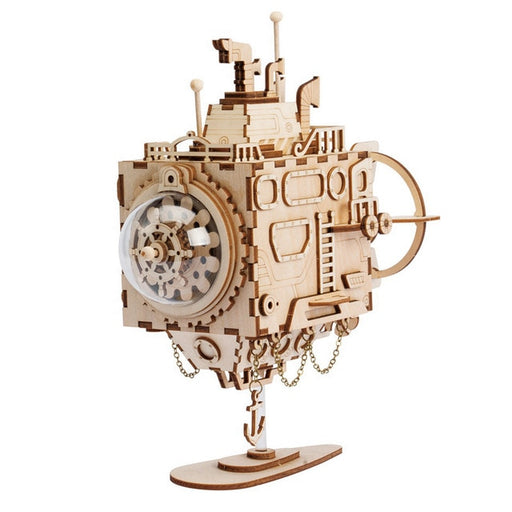Steampunk Submarine Puzzle - cloverbliss.com