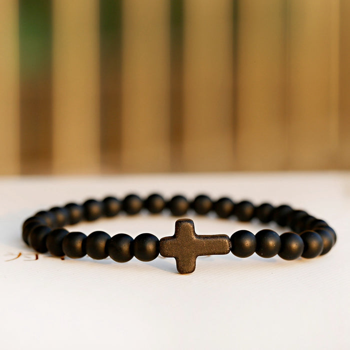 Natural Stone Blessed Charm Yoga Bracelets - cloverbliss.com