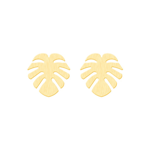Monstera Leaf Earrings - cloverbliss.com