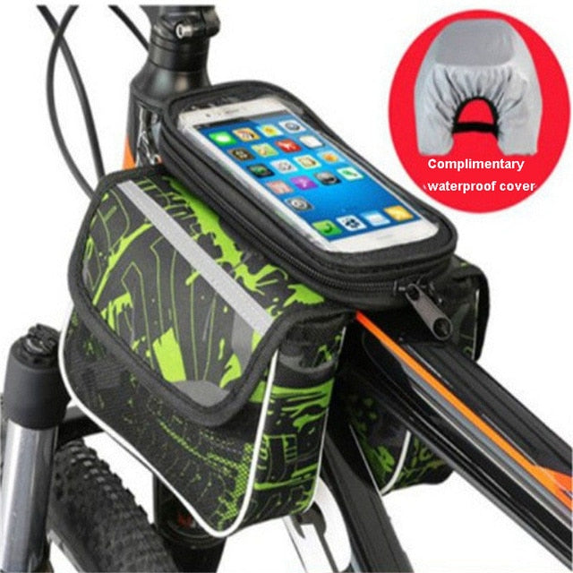 Bicycle Frame Front Saddle Bag - cloverbliss.com