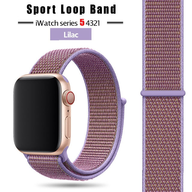 Apple Watch Band Straps 38mm, 40mm, 42mm, 44 mm (Plain Color)
