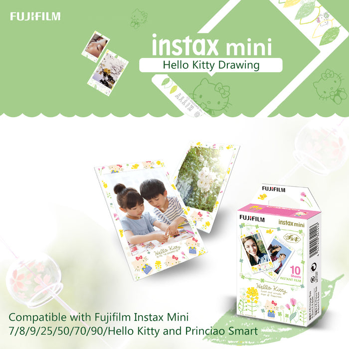 FujiFilm Instax Mini Films - The Pink Panther, Hello Kitty, Mermaid Tail