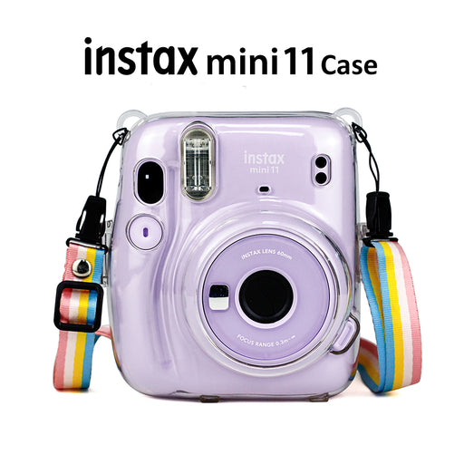 Fujifilm Instax Mini 11 Camera Clear Case - cloverbliss.com