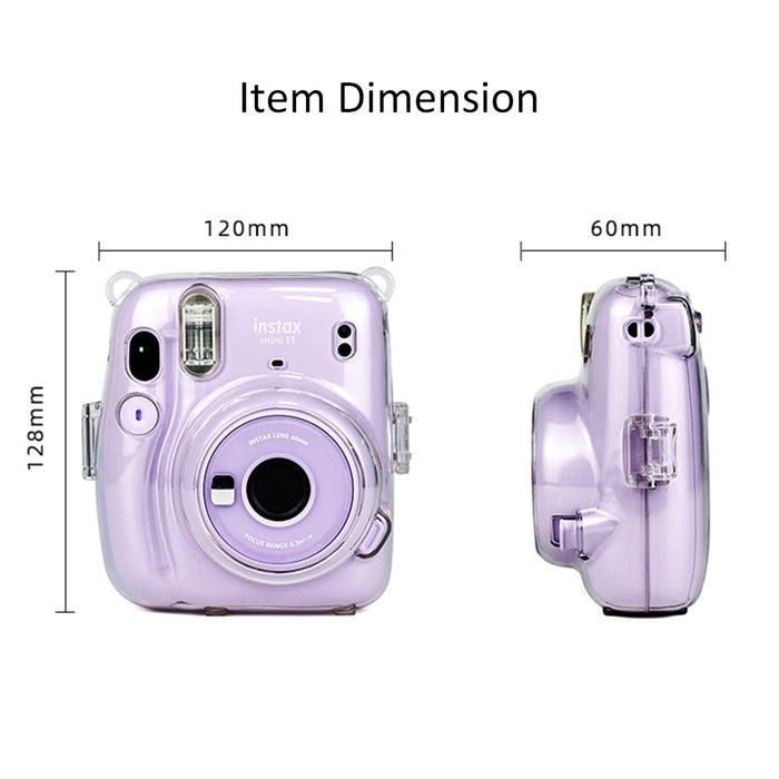Fujifilm Instax Mini 11 Camera Clear Case