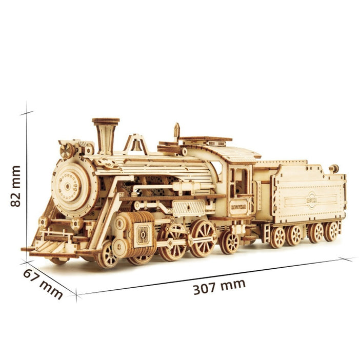 Steam Express Train Puzzle
