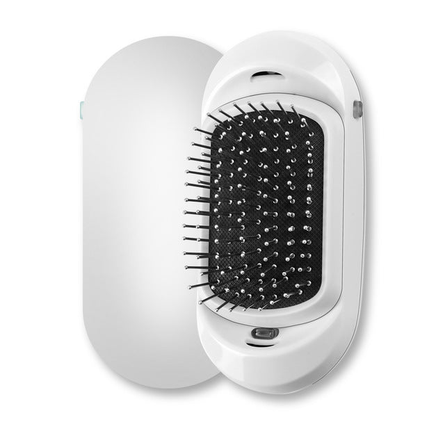 Double Ions Hairbrush - White
