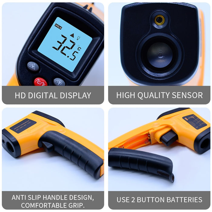 50-380 Degree Infrared Thermometer - cloverbliss.com