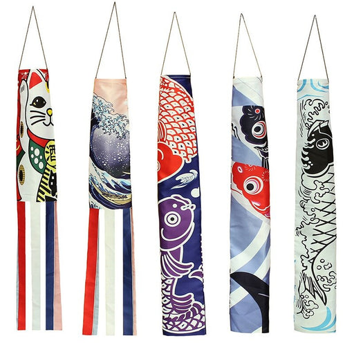 Japanese Carp Windsock - cloverbliss.com