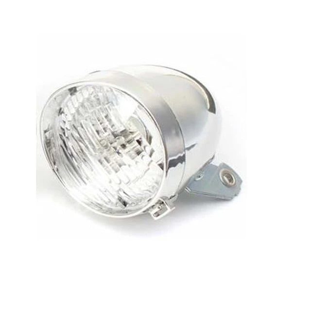 LED Bicycle Retro Headlamp Light - Silver