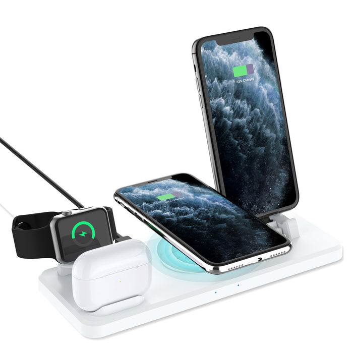 Qualcomm 3.0 Multi Wireless Charging Stand (White)