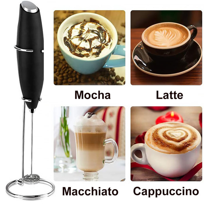 Electric Milk Frother Whisk - cloverbliss.com