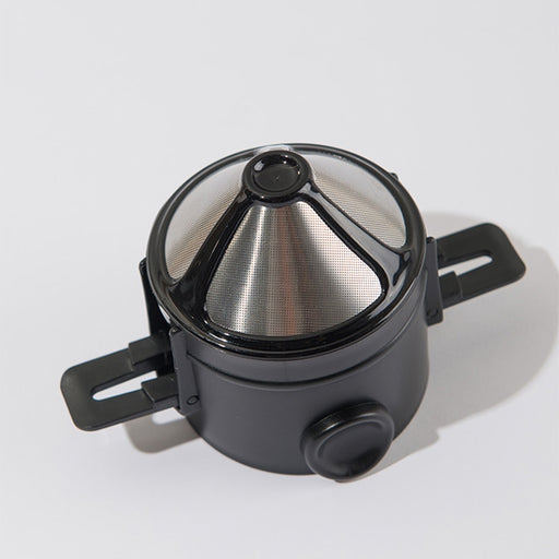 Portable Reusable Stainless Steel Drip Coffee Filter or Tea Infuser