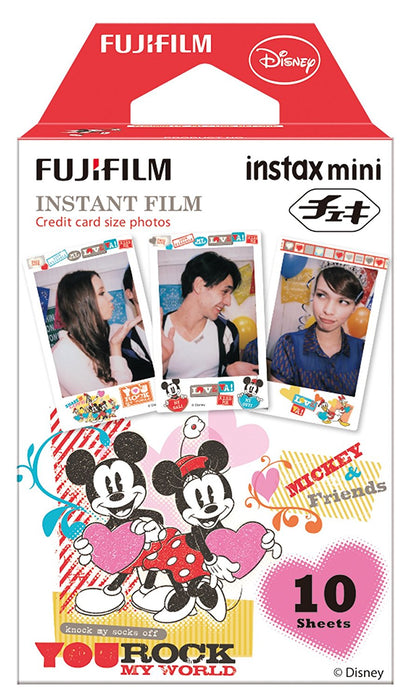 FujiFilm Instax Mini Films - Mickey & Friends - cloverbliss.com