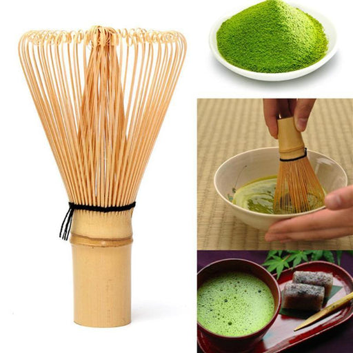 Japanese Ceremony Bamboo Matcha Green Tea Powder Whisk - cloverbliss.com