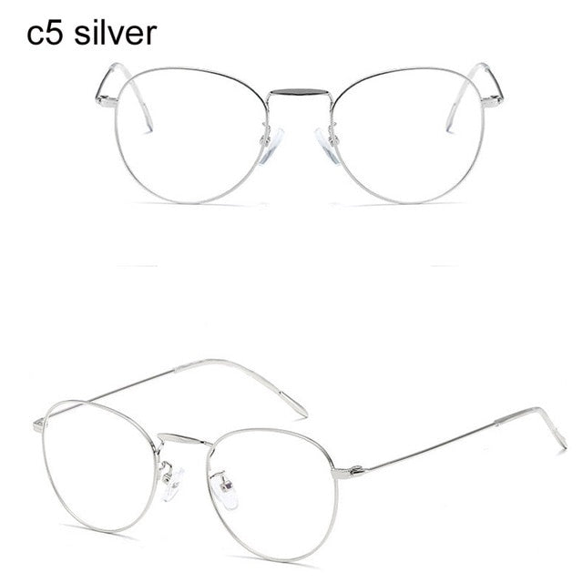 Retro Light Blocking Glasses