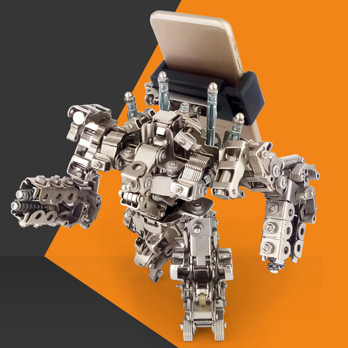 Mecha Metal Robot Figure Model Assembly Kits - cloverbliss-co