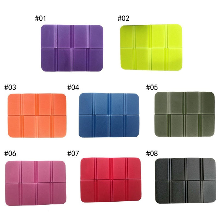 Lightweight Waterproof Foldable Outdoor Sitting Pads Available in 8 Colors - cloverbliss-co