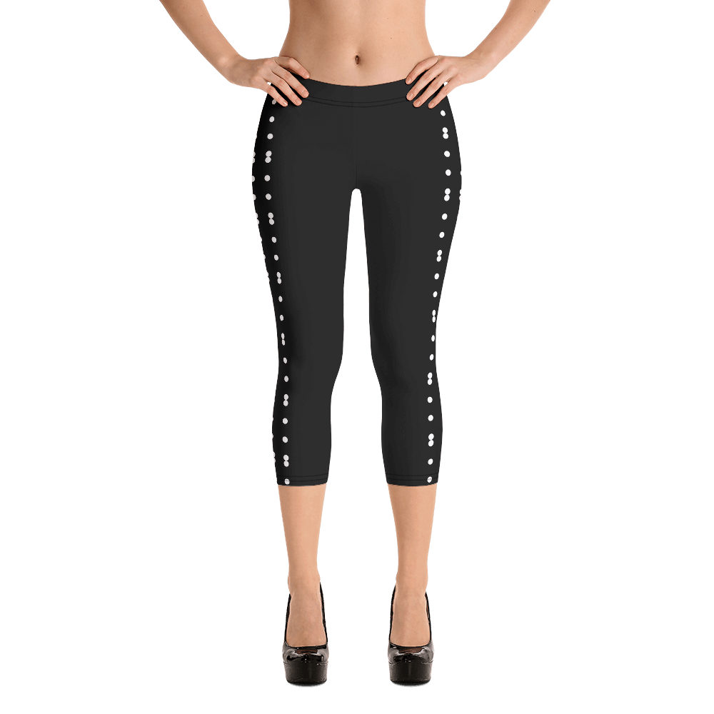 Revive Wear Womens Activewear Capri Leggings