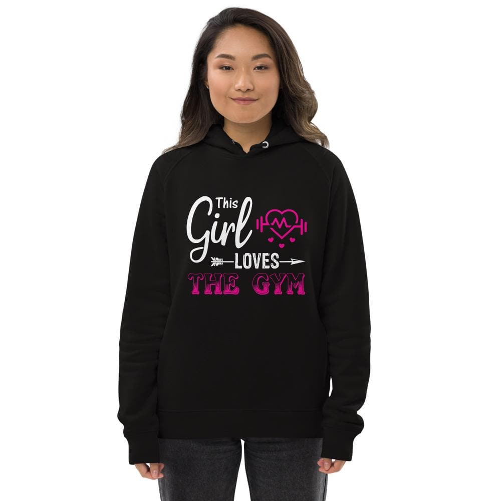 Revive Wear Womens Activewear Girls Who Love The Gym Pullover Hoodie