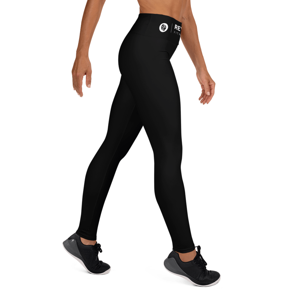 Revive Wear Womens Activewear Supersoft Yoga Leggings in Black