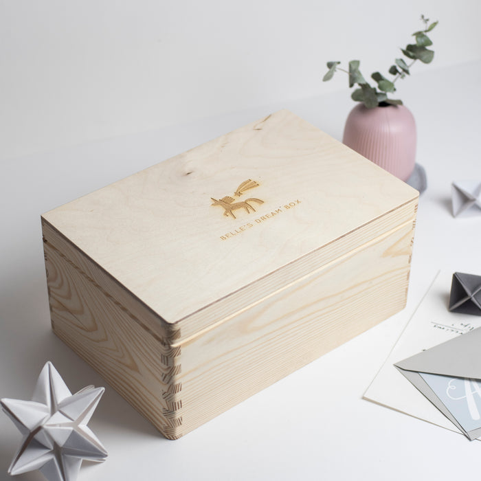 Believe in Magic Unicorn Dream Box