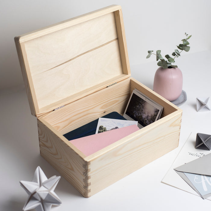 Personalised Thank You For Being My Flower Girl Engraved Wooden Box
