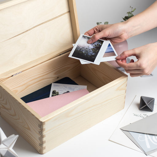 'Everything I never want to forget about Grandad' Memory Keepsake Box
