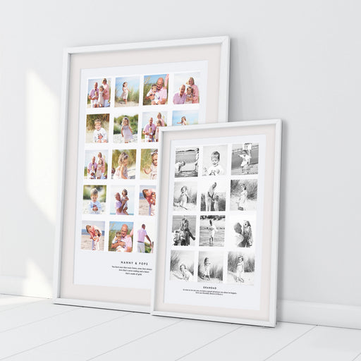 Personalised Grandchildren Grandparent Photo Collage