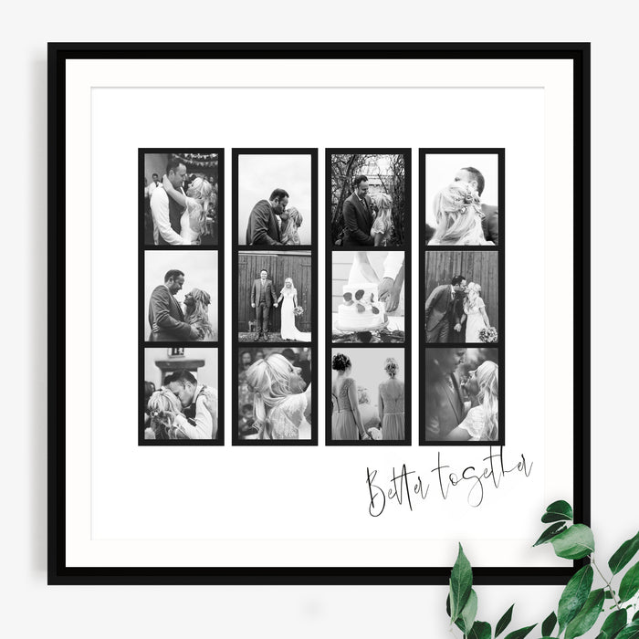 Photo Booth Wedding Print