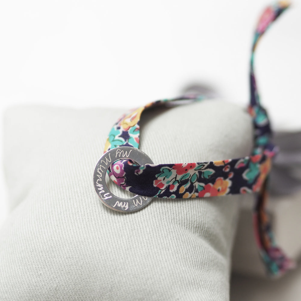 Coupole Carnaby X Liberty London Ribbon Engraved Bracelet