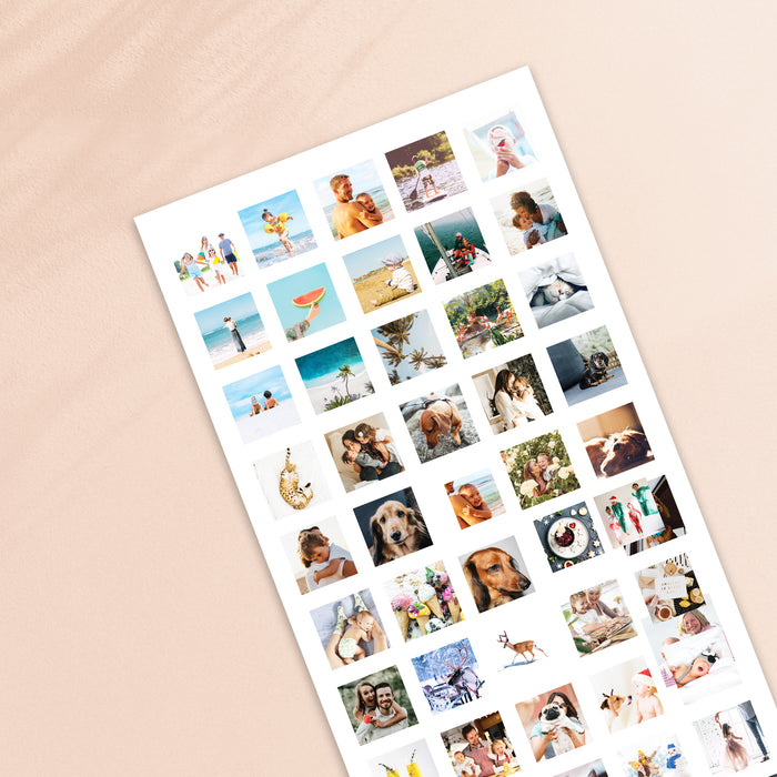 Our Family Memories 75 Image Mothers Day Print