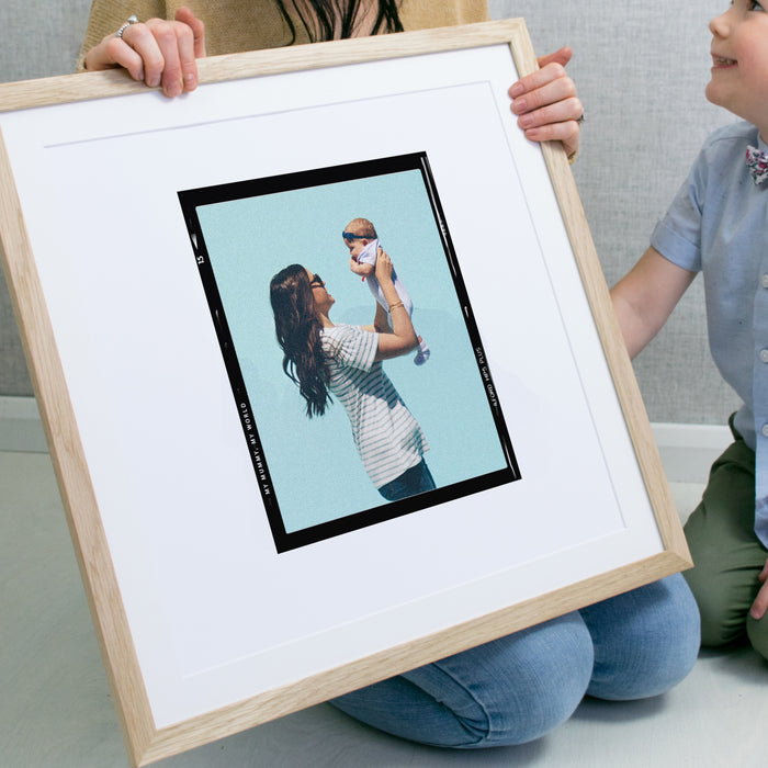 'My Mummy, My World' Personalised Retro Mothers Day Print