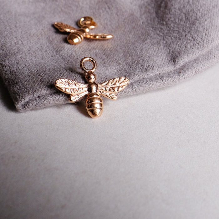 Rose Gold Bumble Bee Pendant (add on pendant)