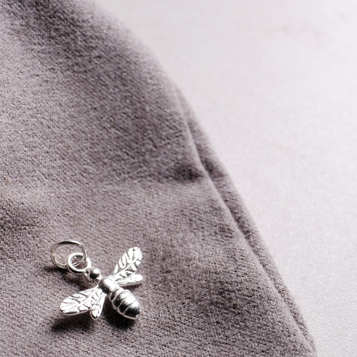 Sterling Silver Bumble Bee Pendant (add on pendant)