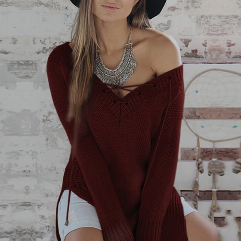 Zadie Knitted Sweater - Boho 70