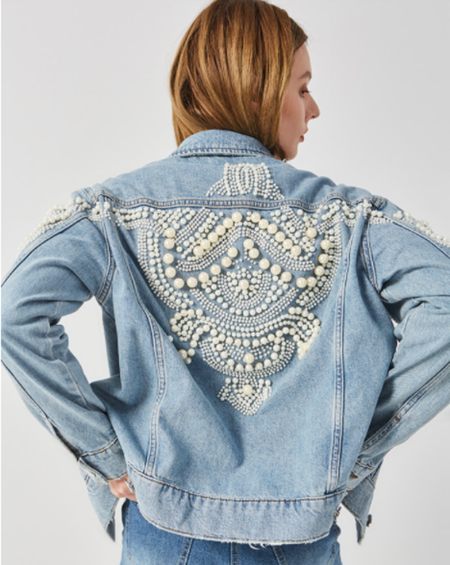Damaris Beaded Jacket
