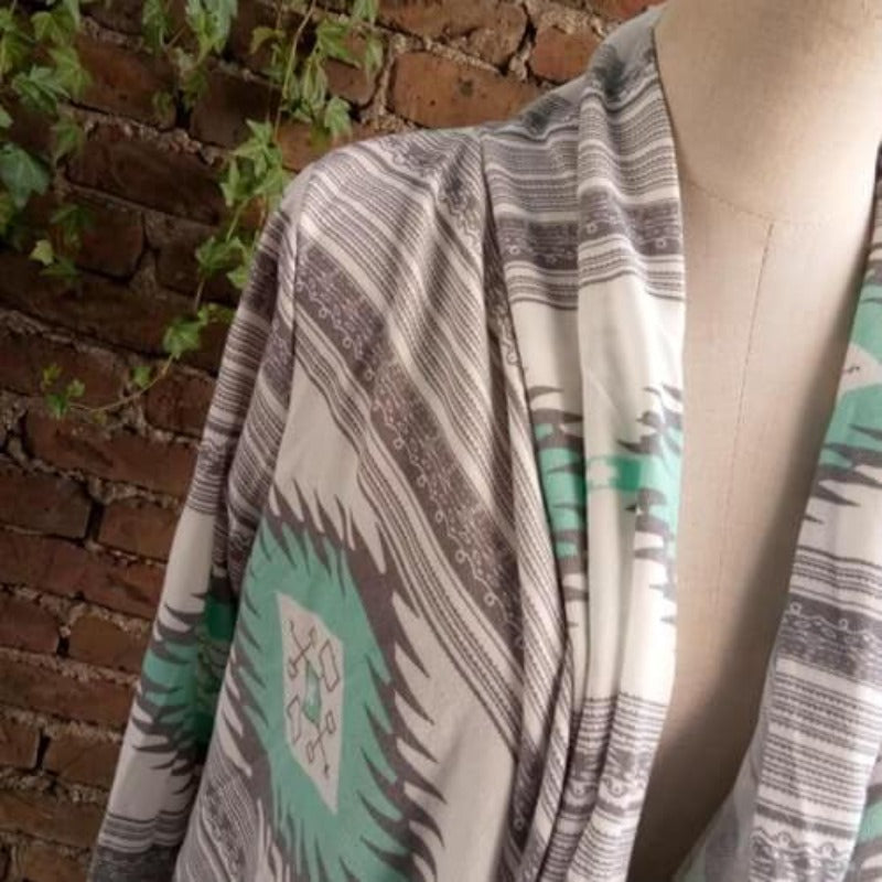 Adora Tribal Print (Green) - Boho 70