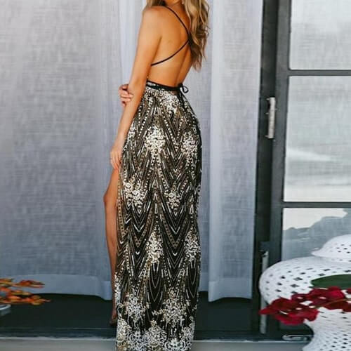 Sierra Rose Dress - Boho 70