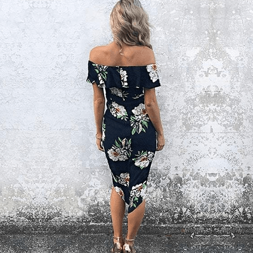 Hawaiian Afternoon Dress - Boho 70